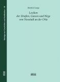 Band 28: Lange, Lexikon der Straßen, Gassen und Wege von Neustadt an der Orla